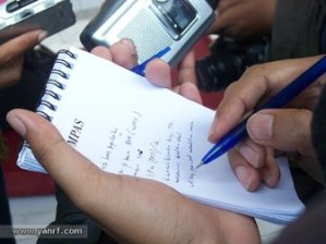 reporter notepad